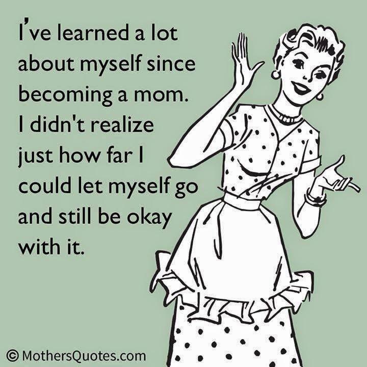 let myself go